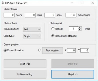 descargar free mouse auto clicker 3.0